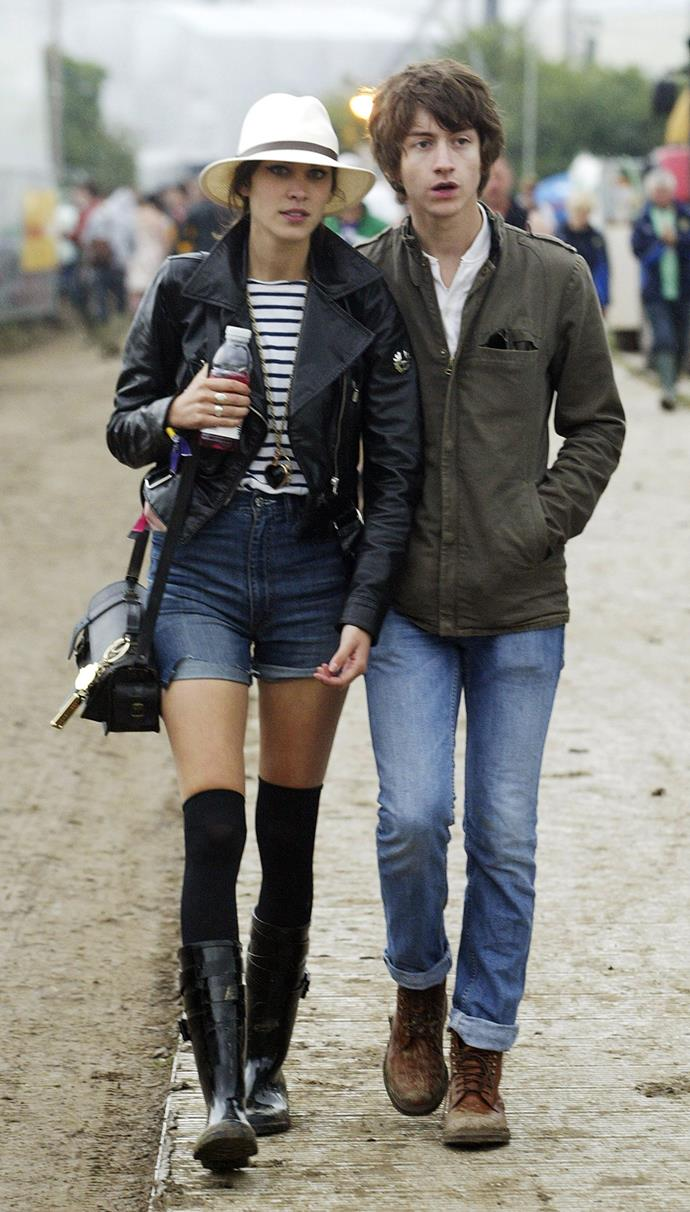 Chung and Turner at Glastonbury in 2008