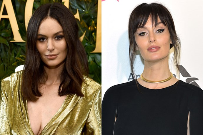 **Nicole Trunfio** <br><br> The model debuted her new wispy bangs at the 26th annual Elton John AIDS Foundation's Academy Awards Viewing Party. Previous to this fresh chop, Trunfio favoured long, wavy layers sans bangs.