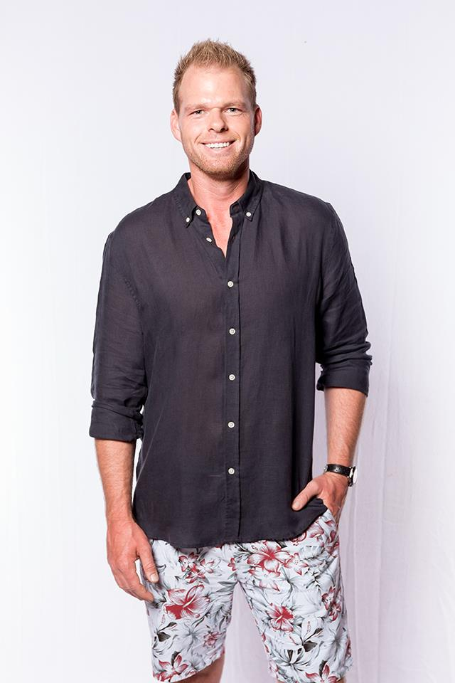 **Jarrod Woodgate** <br><br> **Age:** 32 <br><br> **Original season:** Sophie Monk's season of *The Bachelorette* in 2017 <br><br> **Best known for:** Being obsessed with Sophie and trying to work out who pissed in his pot plant.
