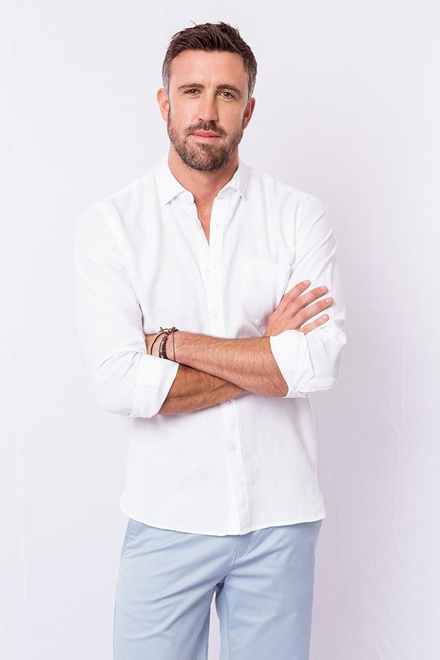 **Luke McLeod** <br><br> **Age:** 34 <br><br> **Original season:** Sophie Monk's season of *The Bachelorette* in 2017 <br><br> **Best known for:** Being the hot George Clooney lookalike.