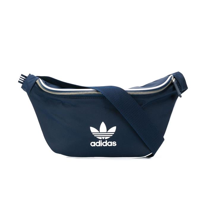 "Belt bag by Adidas, $42 at [Farfetch](https://www.farfetch.com/au/shopping/women/adidas-adicolour-belt-bag-item-12778756.aspx|target=""_blank""