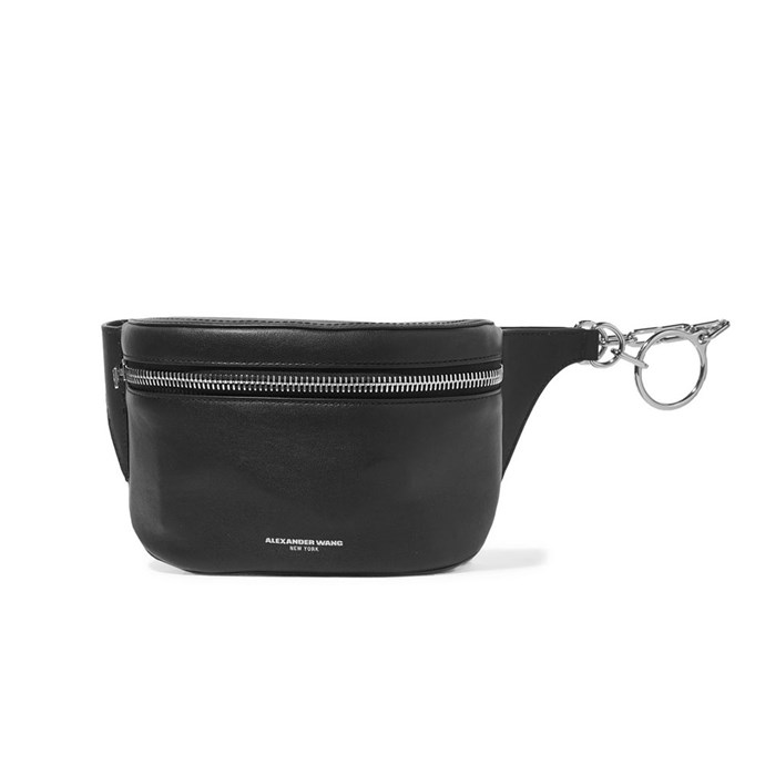 "Belt bag by Alexander Wang, $737 at [Net-a-Porter](https://www.net-a-porter.com/au/en/product/1039080/Alexander_Wang/ace-leather-belt-bag|target=""_blank""