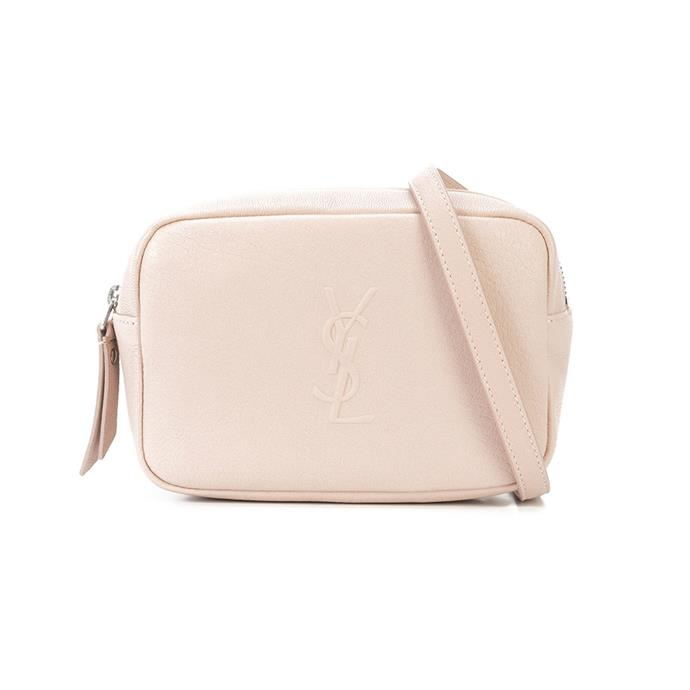"Belt bag by Saint Laurent, $1,185 at [Farfetch](https://www.farfetch.com/au/shopping/women/saint-laurent-belt-bag-item-12529773.aspx?storeid=9475|target=""_blank""