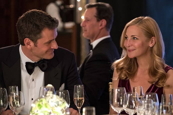 Charles (Peter Hermann) and Pauline (Jennifer Westfeldt)