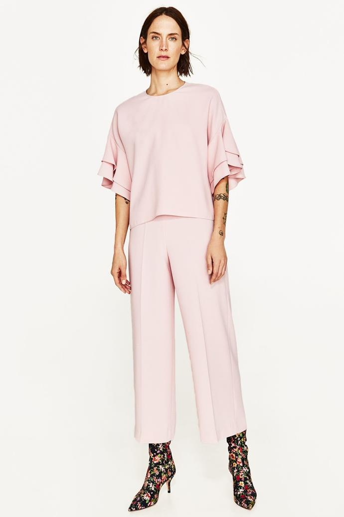 "No longer available. Shop similar trousers, [$59.95](https://www.zara.com/au/en/trousers-with-belt-p04387030.html?v1=5664476&v2=1010044|target=""_blank""
