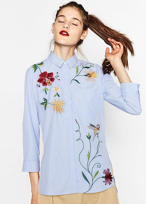 "Not longer available. Shop similar, [$69.95](https://www.zara.com/au/en/striped-shirt-with-trims-p04043050.html?v1=5666341&v2=1010039|target=""_blank""|rel=""nofollow"") at Zara."