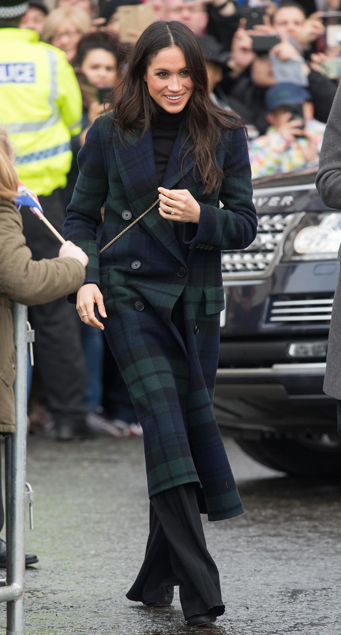 • Markle's fifth event, a visit to Edinburgh around Valentine's Day: $3,276 USD (Approximately $4,246 AUD)