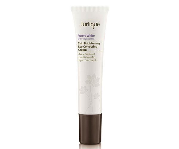 "Formulated to brighten the eye area, this cream features VitaBrightKX that also protects the delicate skin around the eyes. <br><br> Jurlique Purely White Skin Brightening Eye Correcting Cream, $55, at [Adore Beauty](https://www.adorebeauty.com.au/jurlique/jurlique-purely-white-skin-brightening-eye-correcting-cream.html?CAWELAID=255000110000052893&CAGPSPN=pla&CAAGID=42416005591&CATCI=aud-55941486023:pla-319972549634&gclid=CjwKCAjw4sLVBRAlEiwASblR-9-FCdjk37xREdbssZdadTOWjDvBPkBYLWGykNfmnTG9pp3k0ORYMxoCrfgQAvD_BwE|target=""_blank"")."