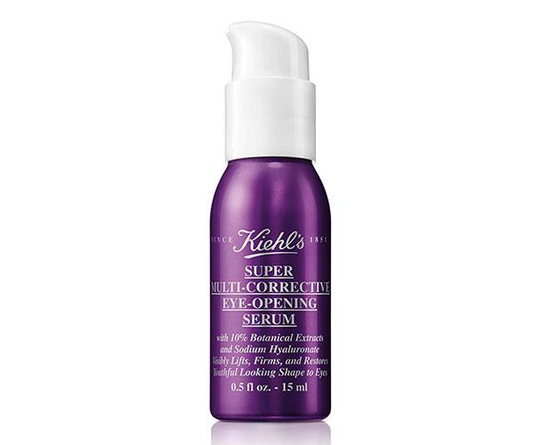 "This serum from Kiehl's works to visibly smooth, lift and firm the eye area. It contains botanically-derived rhamnose to firm and lift skin, sodium hyaluronate to visibly smooth wrinkles and skin-illuminating minerals to brighten the eye contours. <br><br> kiehl's Super Multi-Corrective Eye-Opening Serum, $67, at [David Jones](http://shop.davidjones.com.au/djs/en/davidjones/super-multi-corrective-eye-opening-serum|target=""_blank"")."