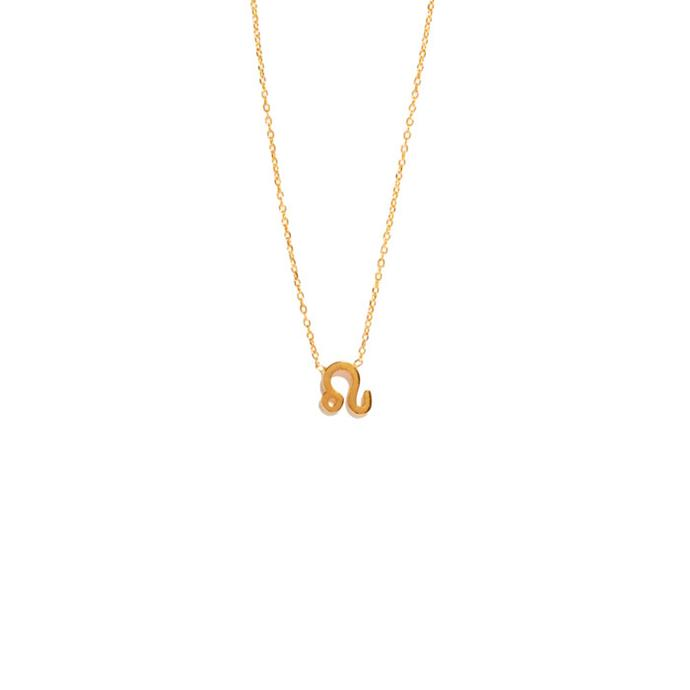 "Necklace, from $295 at [Sarah & Sebastian](https://www.sarahandsebastian.com/products/leo-necklace|target=""_blank""