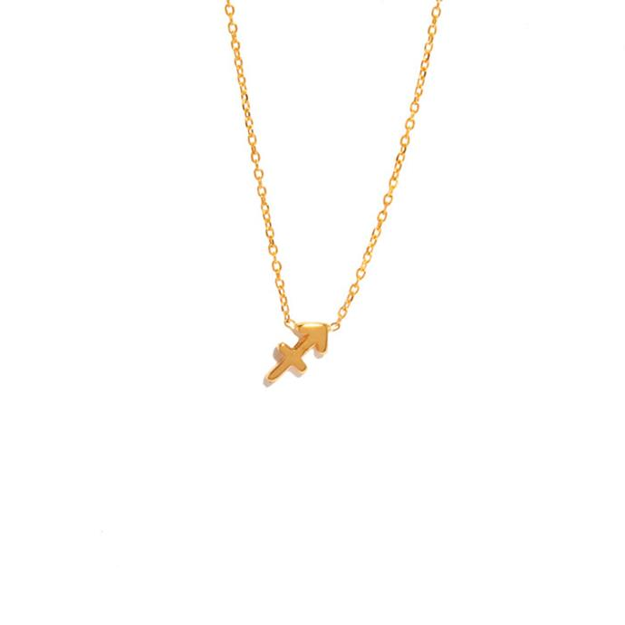 "Necklace, from $295 at [Sarah & Sebastian](https://www.sarahandsebastian.com/products/sagittarius-necklace|target=""_blank""