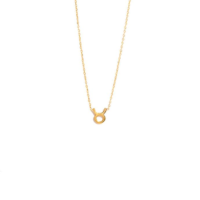 "Necklace, from $295 at [Sarah & Sebastian](https://www.sarahandsebastian.com/products/taurus-necklace|target=""_blank""