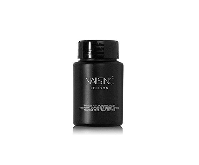 """<strong>The nail saviour </strong> <br> <br> Nothing ruins a presentation or messes up a meeting like shoddy polish. <a href=""""http://shop.davidjones.com.au/djs/ProductDisplay?catalogId=10051&productId=11865008&langId=-1&storeId=10051"""">This </a> genius dip-and-remove pot leaves nails cleans, no cotton balls necessary. <br> <br> And <a href=""""https://www.priceline.com.au/cosmetics/nails/polish-remover/l-oreal-paris-la-manicure-flash-remover-75-ml """">another </a>two polish-remover <a href=""""http://www.amcal.com.au/beauty-theory-nail-polish-remover-pot-non-acetone---1-pack-p-9341571007007?cm_mmc=GooglePLA-_-NA-_-Beauty+Theory-_-9341571007007&mkwid=sNtvTL1ol_dc&pcrid=65807436998&pkw=&pmt=&plid=&gclid=CjwKEAjw3uWuBRD_s-3a8-_h6j0SJAC-qgtHxuR65HliGG2z0K5d_5K4WwPIU7Xwbmg-V-YzEZTqahoCsEzw_wcB """">pots </a>to try"""