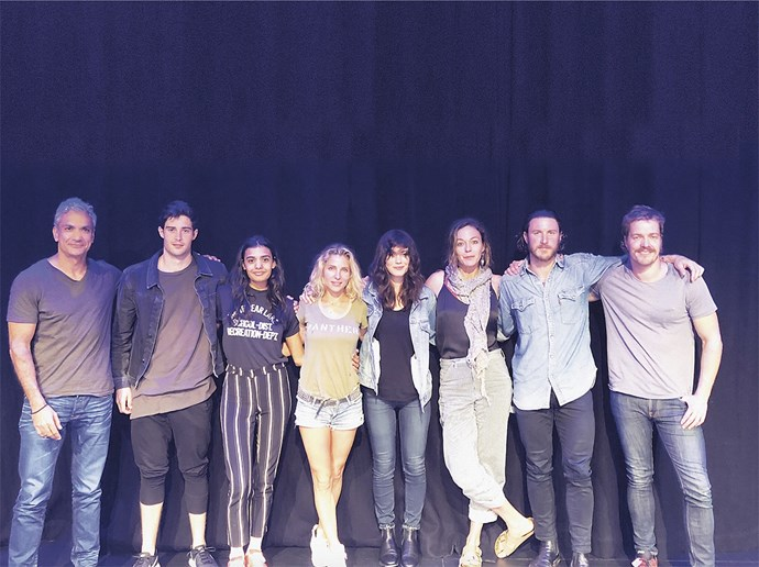 The cast of *Tidelands*