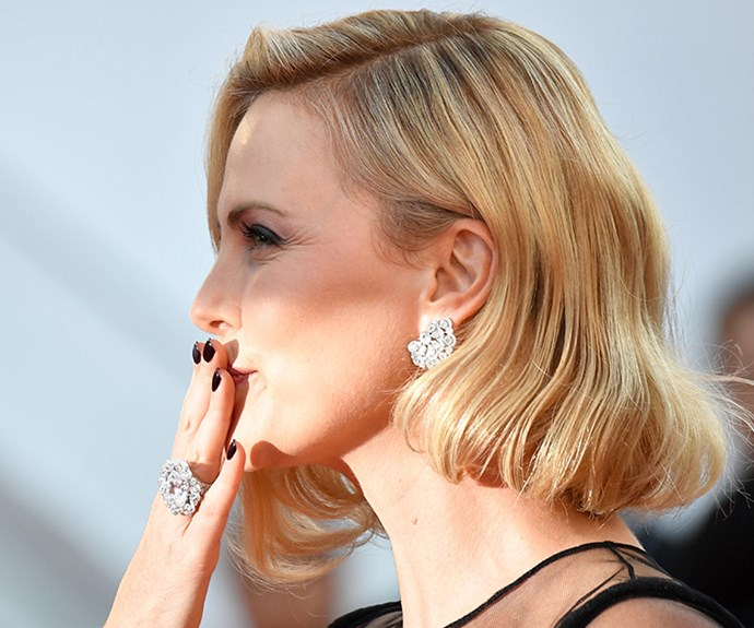 <strong>Gothic grab</strong><br> Be a rebel-with-a-cause and dip in to the dark nail polish trend and channel Uma Thurman's character Mia Wallace in <em>Pulp Fiction</em>.<br> <em>Celeb: Charleze Theron</em>