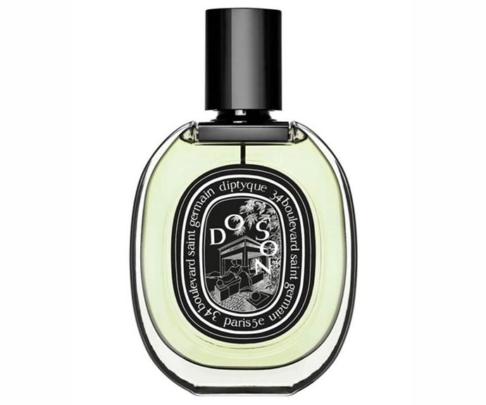 """I've worn this every day for about three years now because tuberose is my favourite smell in the world."" – Claudia Jukic, market editor <br><br> <a href=""https://www.mecca.com.au/diptyque/do-son-edt/V-014539.html"">Do Son EDP, $132 for 50ml, Diptyque</a>"