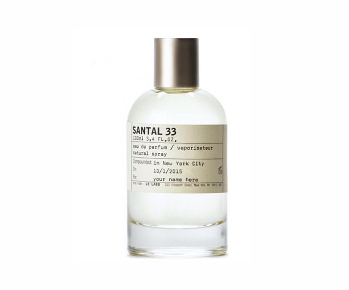 """I'm about to revisit this heady scent that's the fragrance equivalent of a hot date (mostly because it's less elusive than an <em>actual </em>hot date)."" - Elle McClure, digital producer<br><br> <a href=""http://mecca.com.au/le-labo/santal-33/V-011641.html?cgpath=brands-lelabo#start=1"">Santal 33 EDP, $280 for 50ml, Le Labo</a>"