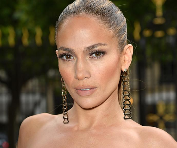 <strong>Jennifer Lopez's skin</strong><br> Whatever Jennifer Lopez is using on her skin, we want in; the woman does not age. Instead of going down a super-matte path, like so many other celebrities, the 48-year-old singer prefers to let her natural skin texture do the talking in the form of dewy, light foundations.