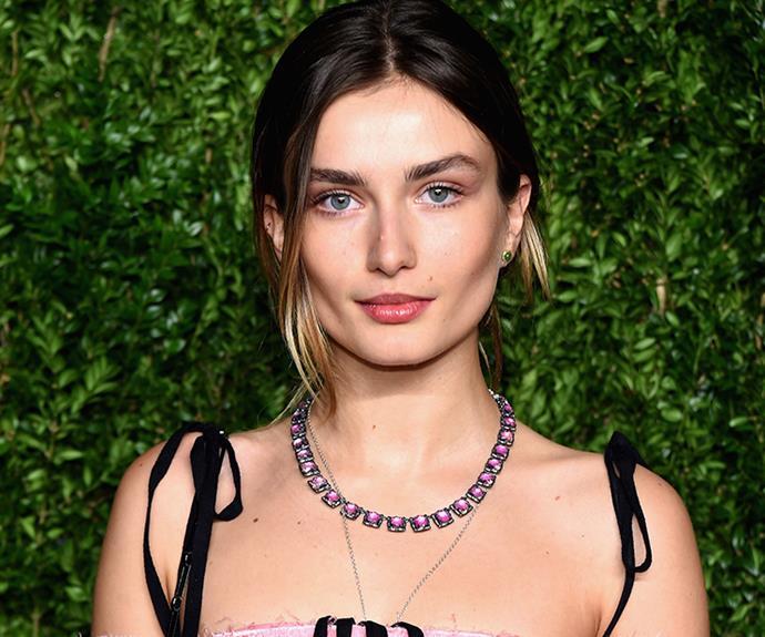 <strong>Andreea Diaconu's cheekbones</strong><br> Her skin may be out-of-this-world amazing, but we're doing a shout out to Andreea's beautiful cheekbones and the glowy, illuminator and soft apricot cream blushes she uses to enhance them. Perfection.