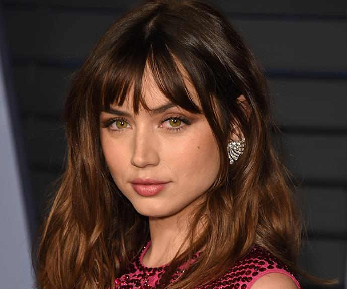 <strong>Ana de Armas' eyes</strong><br> The Cuban actress and model's cat-like eyes are just as much her signature as her long legs. To put these on show, she'll often play up their almond-like shape by going easy on the eyeshadow and focusing instead on heavy, flicked-out liner and lots of lashes