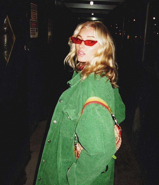 "**Poppy Lissiman** <br><br> Their Signature Piece: [The Le Skinny Sunglasses](https://www.elle.com.au/fashion/poppy-lissiman-le-skinny-sunglasses-14474 target=""_blank"") <br><br> Elsa Hosk"