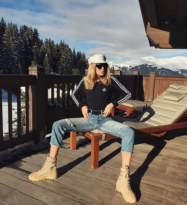 "**Ruslan Baginskiy** <br><br> Their Signature Piece: [The Pageboy Cap](https://www.elle.com.au/fashion/celebrities-wearing-pageboy-caps-10350|target=""_blank"") <br><br> Lena Perminova"