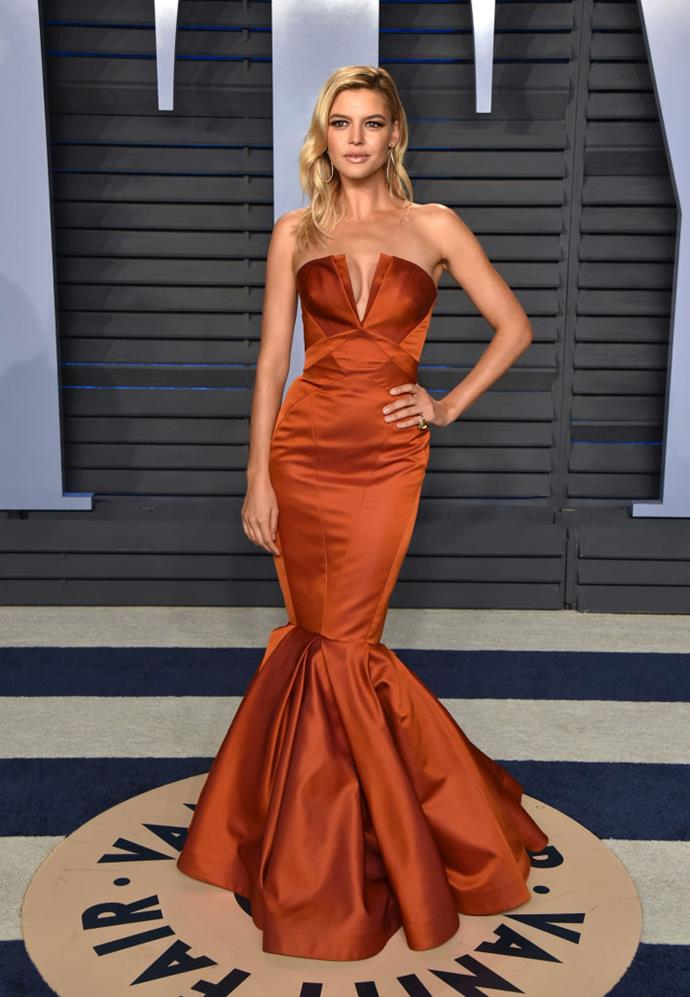**Kelly Rohrbach**  Kelly Rohrbach may not have a Victoria's Secret contract, but she has appeared in the pages of Sports Illustrated. The model date Leo in late 2015, and reportedly split in January of 2016.