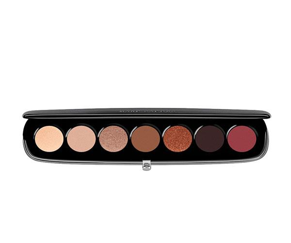 "**Beauty Eye-Conic Multi-Finish Eyeshadow Palette in Scandalust by Marc Jacobs**  <br><br> This collection of seven shades contains just the right amount of matte and glittery nudes—plus a dark brown and red to make the eyes *pop*. <br><br> *$74, available at [Sephora](https://www.sephora.com.au/products/marc-jacobs-style-eye-con-no7/v/710-provocouture|target=""_blank""