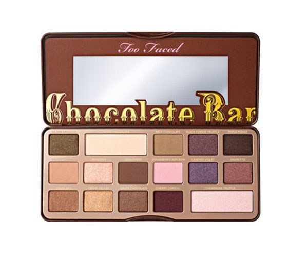 """**Too Faced Chocolate Bar Eye Shadow Palette, $70 at [Mecca](https://www.mecca.com.au/too-faced/chocolate-bar-eye-shadow-palette/I-017659.html