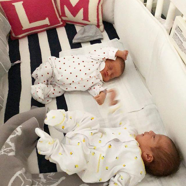 "The twins make their Instagram debut. <br><br> *Image: [@leandramcohen](https://www.instagram.com/p/BgYuSKLgDGn/?taken-by=leandramcohen|target=""_blank"")*"