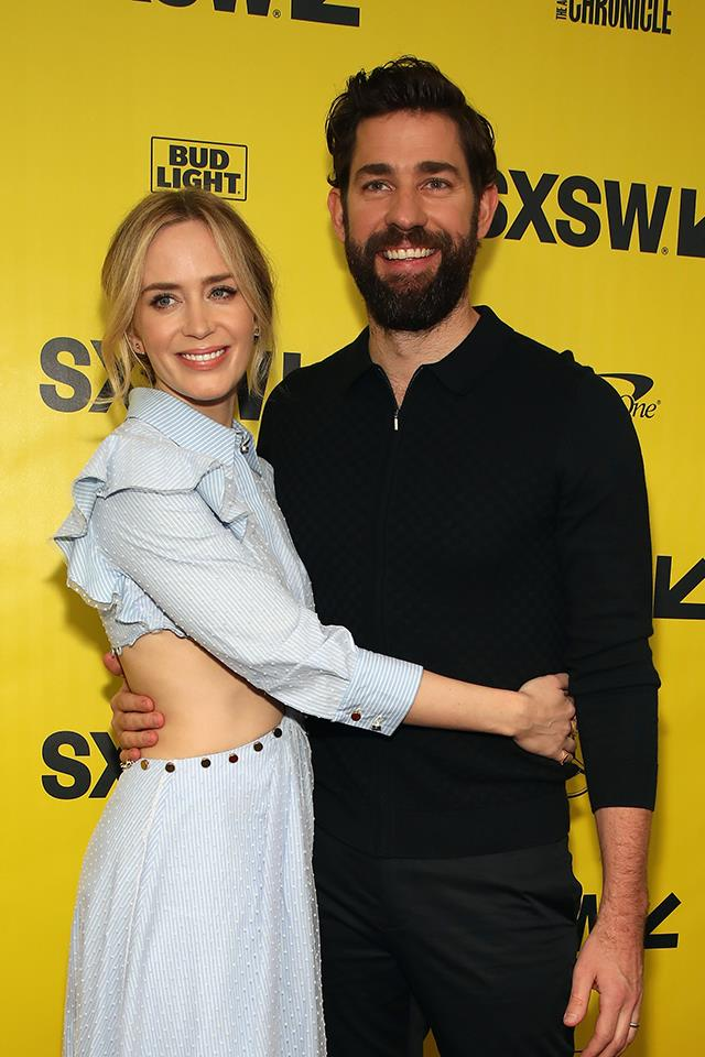 "**Emily Blunt and John Krasinski**  Blunt and Krasinski are at the top of most people's lists of couples that can never break up. While Krasinski has [openly gushed about his affection for his wife](https://www.elle.com.au/celebrity/cute-emily-blunt-and-john-krasinski-9622|target=""_blank"")—they were married in 2010—Blunt has been a little more tight-lipped. And it was only recently that she revealed exactly how they got together. <br><br> ""It's kind of a sad, lame story,"" she [told Seth Meyers](https://www.youtube.com/watch?v=CU8qwXYH83c&t=170s
