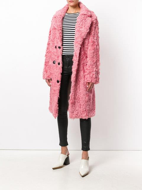 "Numberootto Double Breasted Coat, $1,850 from [Farfetch](https://www.farfetch.com/au/shopping/women/numerootto-double-breasted-coat-item-12457441.aspx|target=""_blank"")."