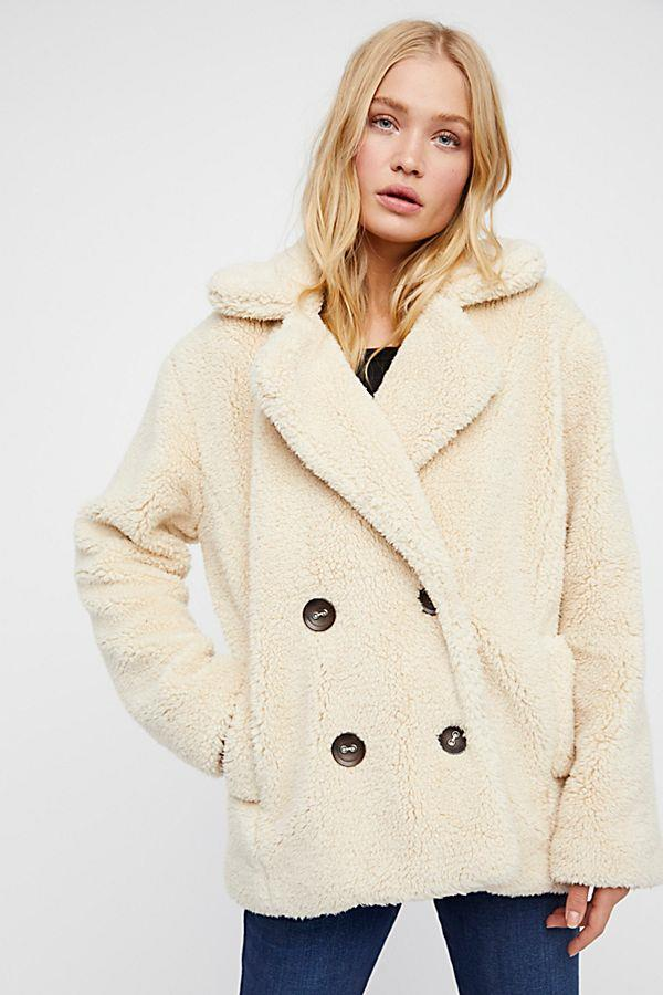 "Teddy Peacoat, $90.05 from [Free People](https://www.freepeople.com/shop/teddy-peacoat/?category=jackets&color=011|target=""_blank"")."