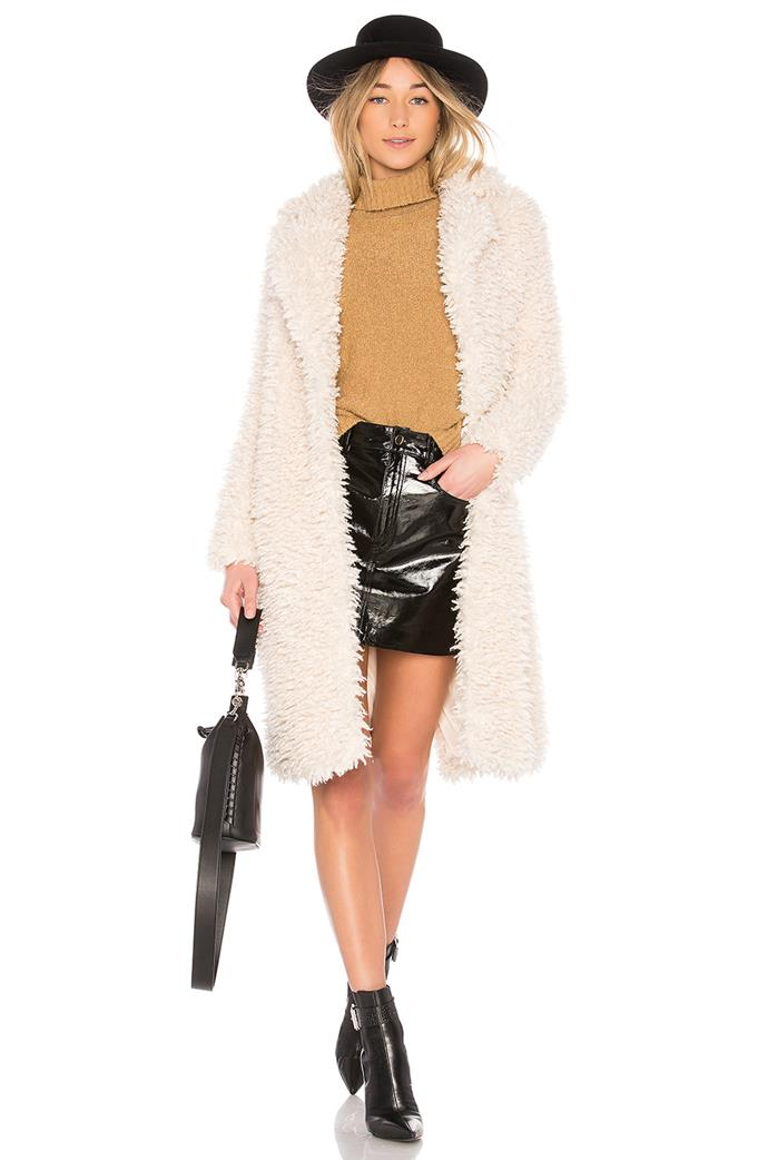 "Madison Coat, $242.13 from [Revolve](http://www.revolveclothing.com.au/madison-coat/dp/EAVR-WO42/?d=Womens&sectionURL=undefined&srcType=dp_recs|target=""_blank"")."