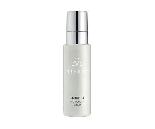 "**Serum 16 Rapid Renewal, $80, at [CosMedix](https://www.cosmedix.com/serum-16-30ml|target=""_blank"")** <br><br> ""Since I turned 30 I've looked to products and treatments that reverse the signs of ageing. The retinol in this serum has helped improve fine lines and my skin texture. I use it three times week and pop a nourishing moisturiser over the top."" - *Amanda Spackman, digital managing editor*"