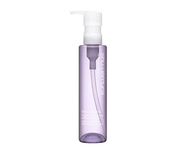 "**Shu Uemura Cleansing Oil Blanc: Chroma, $112, at [Sephora](https://www.sephora.com.au/products/shu-uemura-blanc-chroma-brightening-and-polishing-gentle-cleansing-oil/v/450ml|target=""_blank"")** <br><br> ""On first use, this made my skin cleaner than it's ever felt. I'm still using it years later—it becomes an addiction."" – *Sarah Birnbauer, associate art director*"