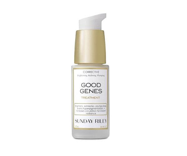 "**Sunday Riley Good Genes All-In-One Lactic Acid Treatment, $154, at [MECCA](https://www.mecca.com.au/sunday-riley/good-genes-all-in-one-lactic-acid-treatment/I-015823.html#q=Sunday+Riley&start=1|target=""_blank"")** <br><br> ""I strongly believe in chemical exfoliation (read: acid) and this serum contains lactic acid to resurface your skin and it helped reduce my pigmentation. Plus it gives an undisputed glow so good you'll skip foundation the next day."" – *Amber Elias, editorial coordinator*"