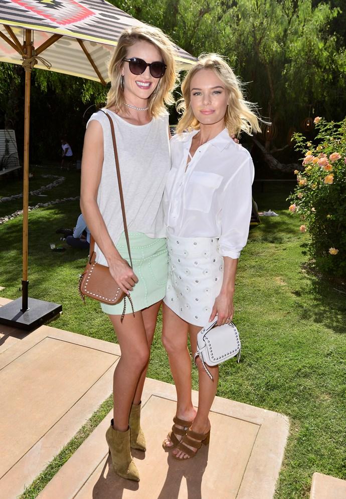 Rosie Huntington-Whiteley and Kate Bosworth