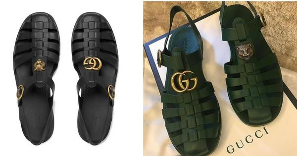 9344794a9548 Gucci Are Trying To Bring Back Jelly Sandals