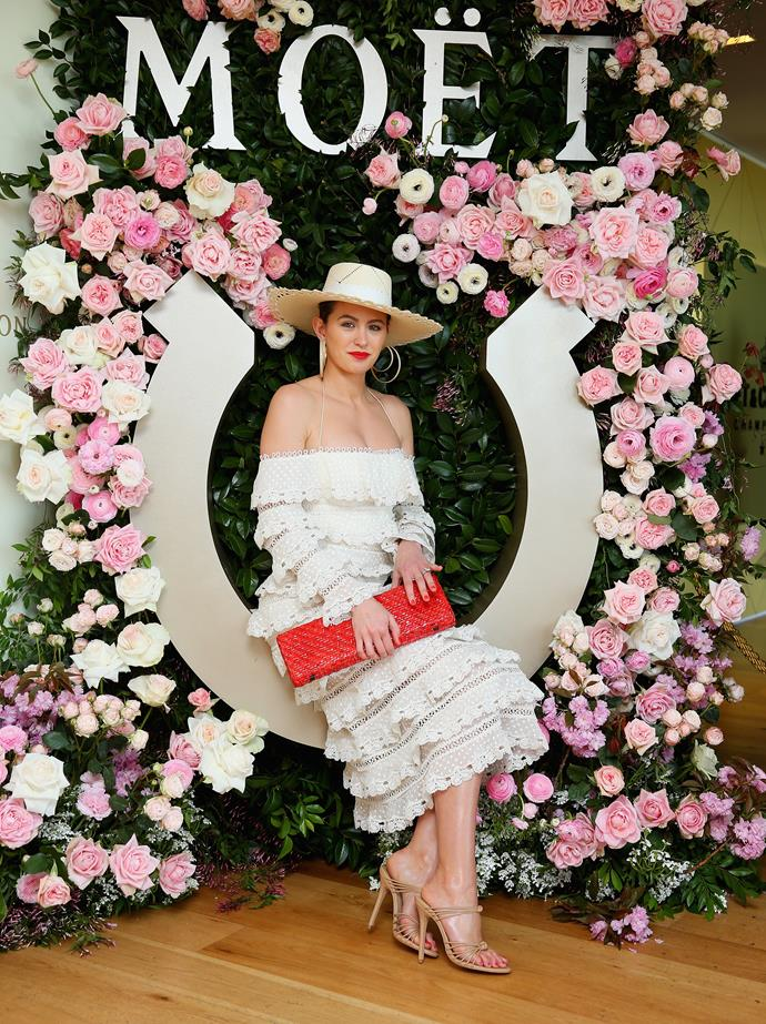At the Spring Champion Stakes Day at Royal Randwick in 2017.