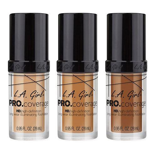 "**LA Girl Pro Coverage Foundation, $19.20 at [Beauty Bay](https://www.beautybay.com/makeup/lagirl/procoveragehdlongwearilluminatingliquidfoundation/|target=""_blank""