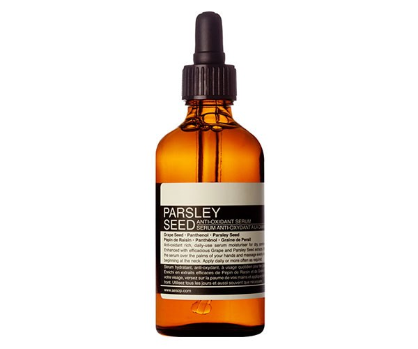 """""""Formulated with aloe vera, this is so lightweight and quick to absorb. The deeply hydrating serum is heavenly to apply after using Aesop Purifying Facial Exfoliant Paste and before a delicious slather of jojoba oil."""" - *Alexandra McManus, deputy chief sub editor* <br><br> Aesop Parsley Seed Anti-Oxidant Serum, $75, at [Adore Beauty](https://www.adorebeauty.com.au/aesop/aesop-parsley-seed-anti-oxidant-serum-100ml.html