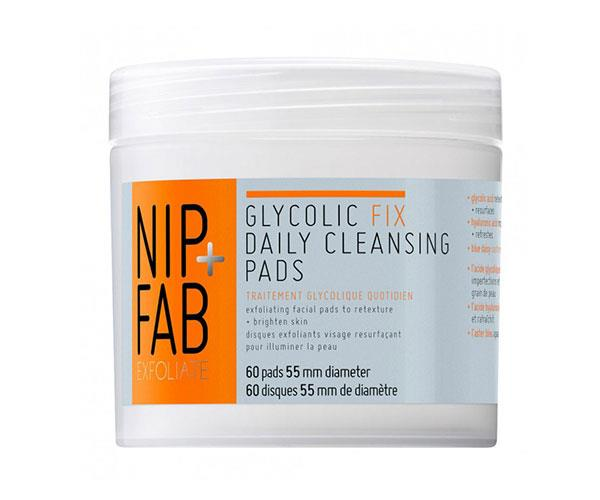 "**Brightening booster** <br><br> These wipes feature glycolic acid, hyaluronic acid and soothing blue daisy to help reveal brighter and smoother looking skin.  <br><br> Nip + Fab Glycolic Fix Daily Cleansing Pads, $35, at [Priceline](https://www.priceline.com.au/brand/nipfab/nip-fab-glycolic-fix-daily-cleansing-pads-60-pack|target=""_blank"")."
