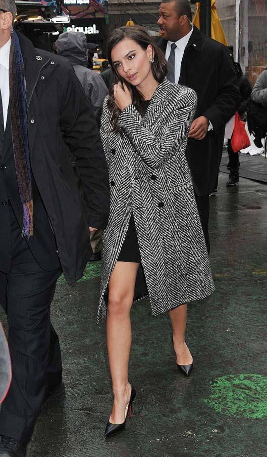 At New York Fashion Week, February 2015.