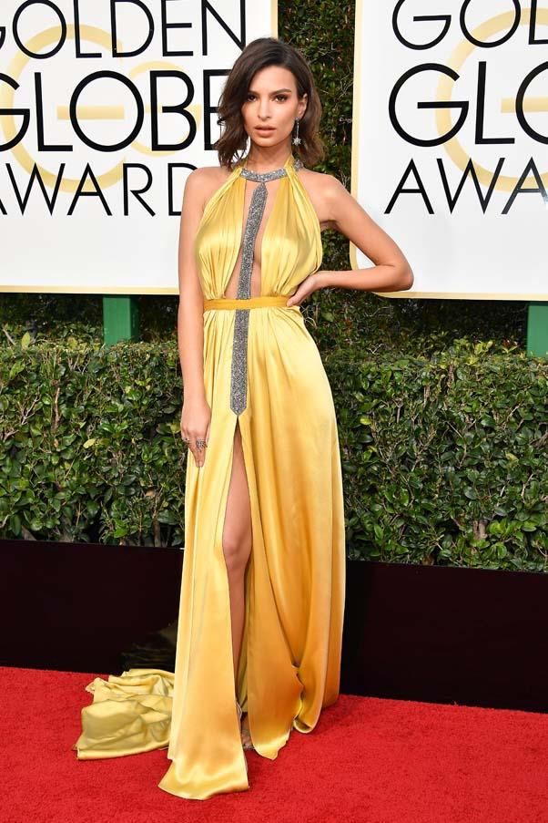 At the Golden Globes, January 2017.
