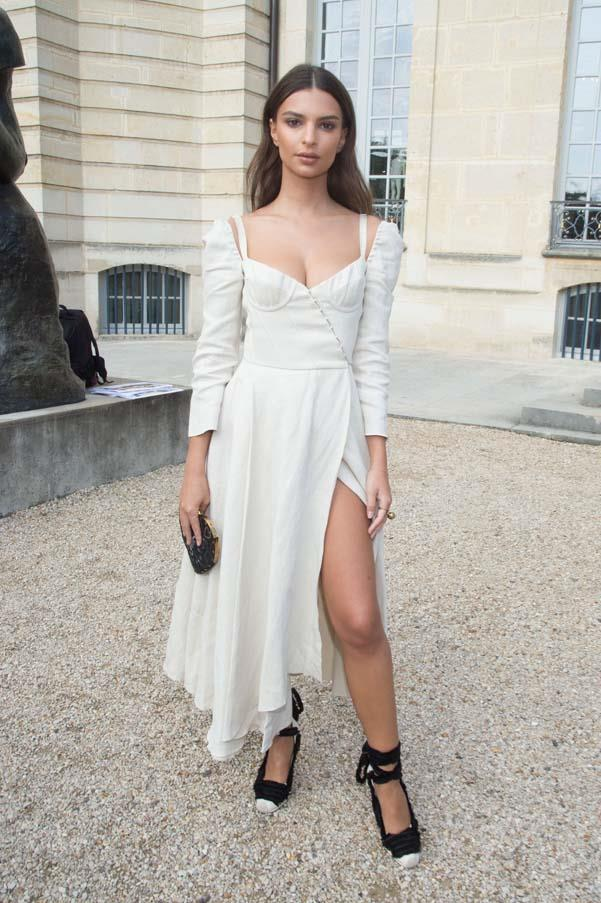 Outside Dior at Paris Fashion Week ready-to-wear, September 2017.