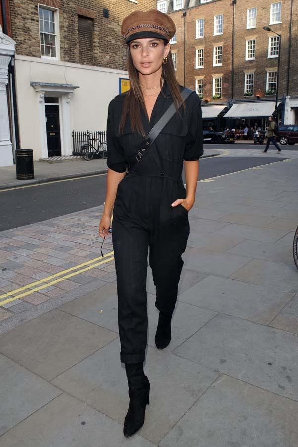 Out in London, July 2017.