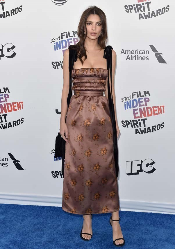 At the Film Independent Spirit Awards, March 2018.