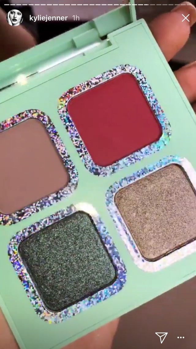 Inside the green palette, featuring 'Matcha' on bottom left.