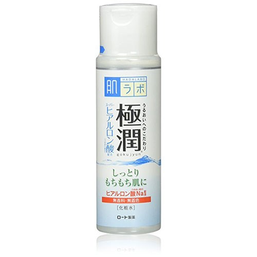"""**Hada Labo Goku-jyun Clear Lotion, $11.59 at [Amazon](https://www.amazon.com/Hada-Labo-Hadalabo-Gokujun-Hyaluronic/dp/B00BSNBO9O